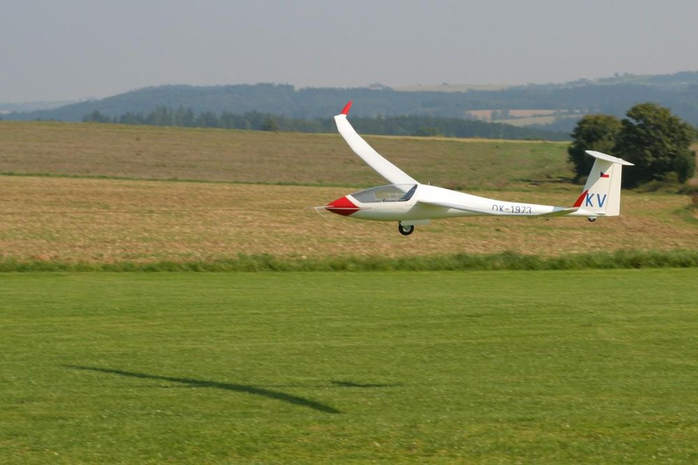 Karel Vencel Ventus 2cx maiden flight